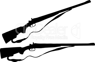 Weapons Silhouette Collection - Firearms