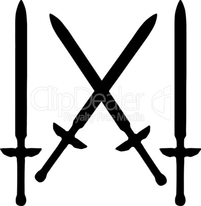 Weapons Silhouette Collection - Swords