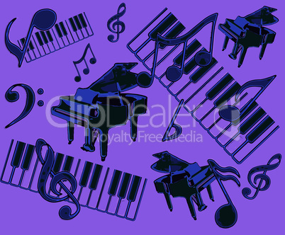 Abstract Musical Display