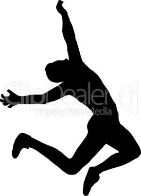 Male Long Jumper