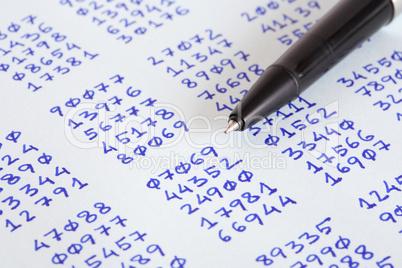 Pen And Ciphertext
