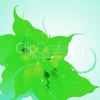 EPS10 flower background