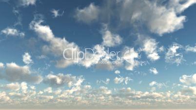 Sky time laps