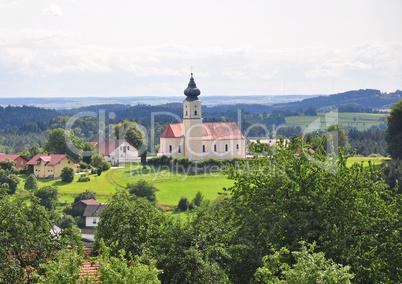 Kirche Sankt Stephanus in Lalling, Bayern