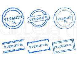 Vitamin B2 Stempel