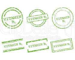 Vitamin B1 Stempel