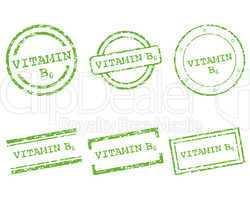 Vitamin B6 Stempel