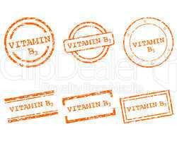 Vitamin B3 Stempel
