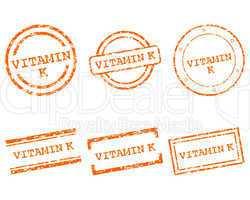 Vitamin K Stempel