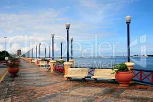 waterfront promenade recife
