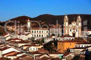 igreja de nossa senhora do carmo church Ouro Preto brasil