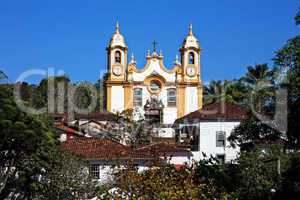 Matriz de Santo Antonio church of tiradentes minas gerais brazil
