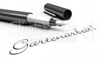 Gartenarbeit! - Stift Konzept