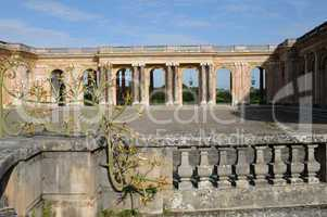 France, Le Grand Trianon in the park of Versailles Palace