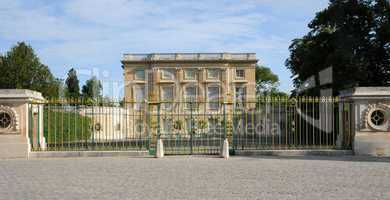 France, Le Petit Trianon in the park of Versailles Palace
