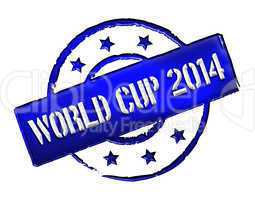 Stamp - World Cup 2014