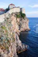 Dubrovnik Cliffs by the Adriatic Sea