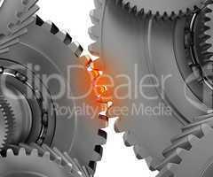 Overloaded mechanism