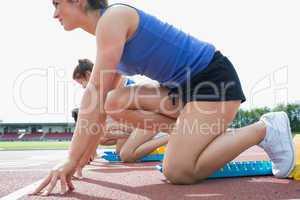 Women beginning to run