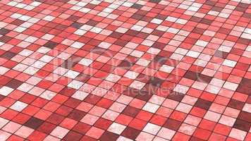 Hintergrund Bodenfliesen Rot Bunt 02