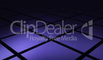 Quader Matrix diagonal violett schwarz 03