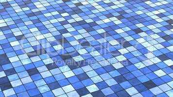 Hintergrund Bodenfliesen Blau bunt 02