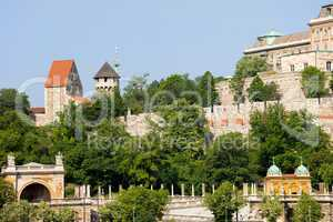 Buda Castle Fortification in Budapest