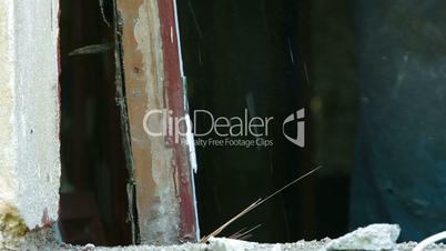 House Renovation - Demolishing Old Window Frame