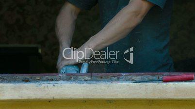 House Renovation - Demolishing Old Wooden Window