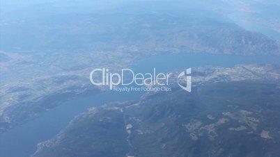Aerial View Of West Kelowna British Columbia