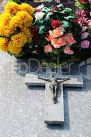France, the cemetery of Condecourt  in Val d Oise