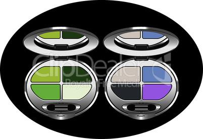 vector eye shadows