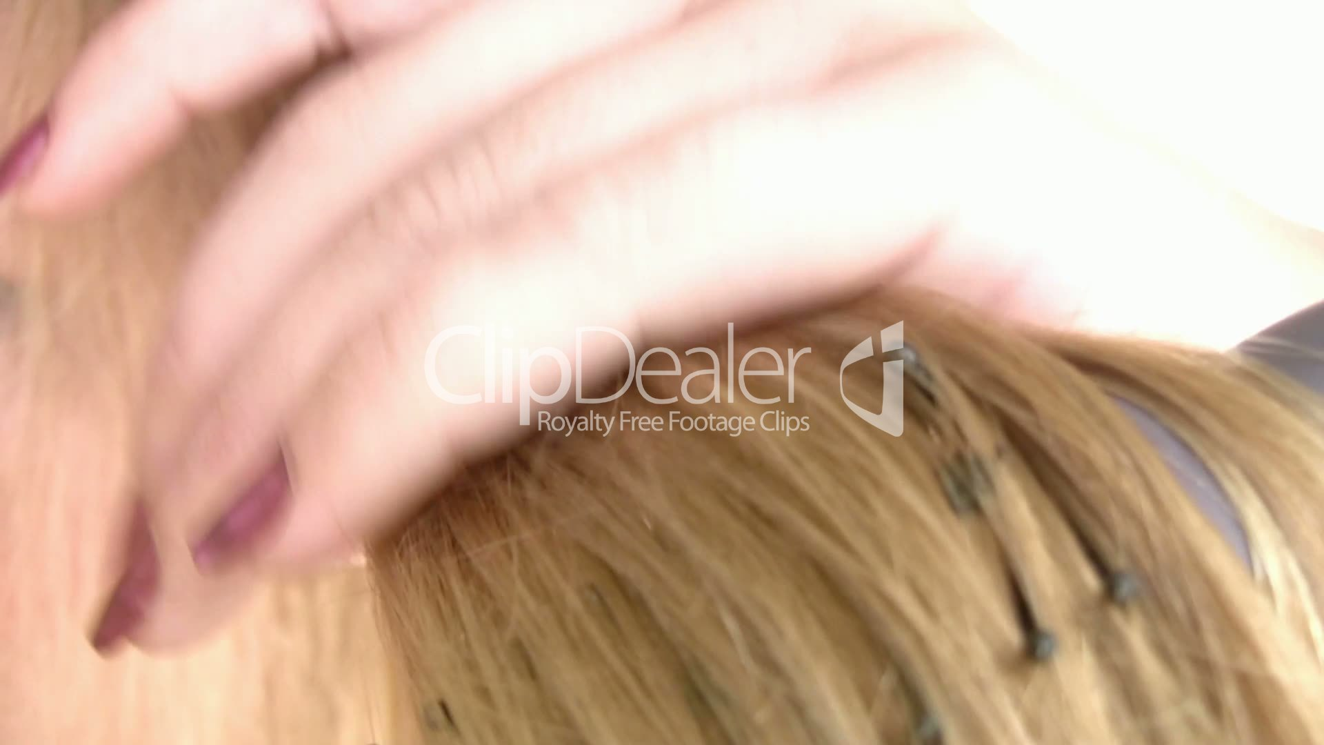 Combing her soft hairy pussy with my fingers