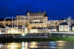 Chateau d'Amboise by night