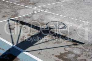 Basketball Hoop Shadow