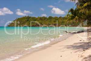 Tropischer Strand, Tropical beach