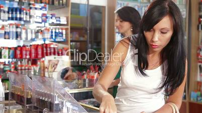 Women Buying Beauty Care Products