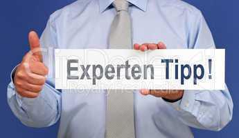 Experten Tipp !