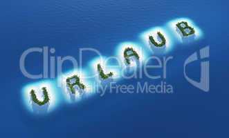 Urlaub Insel Konzept 3
