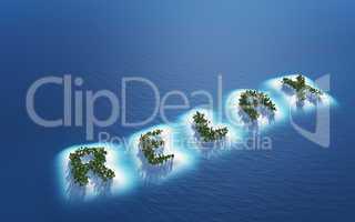 Relax - Insel Konzept