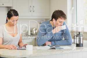 Two people spending time together