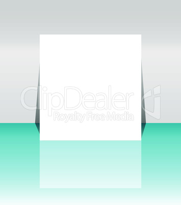 abstract flyer or cover design - leaflet vector