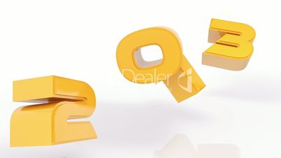 3D 2013 year golden