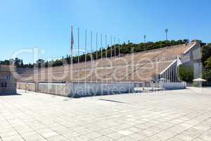 Panathinaiko Olympic Stadium in Athens