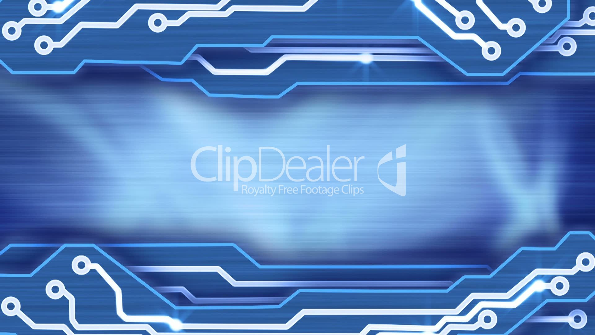 Electronic Circuit Plates Blue Loop Background Royalty Free Video Design And Stock Footage