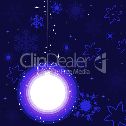 vector christmas decoration