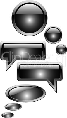vector chat boxes