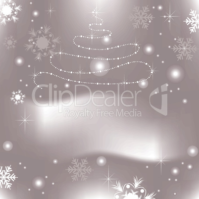 vector abstract xmas background