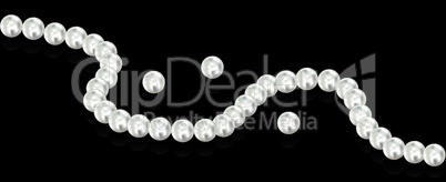 vector  pearl beads