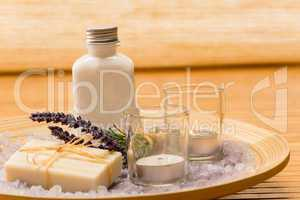 Aromatherapy lavender cosmetic products